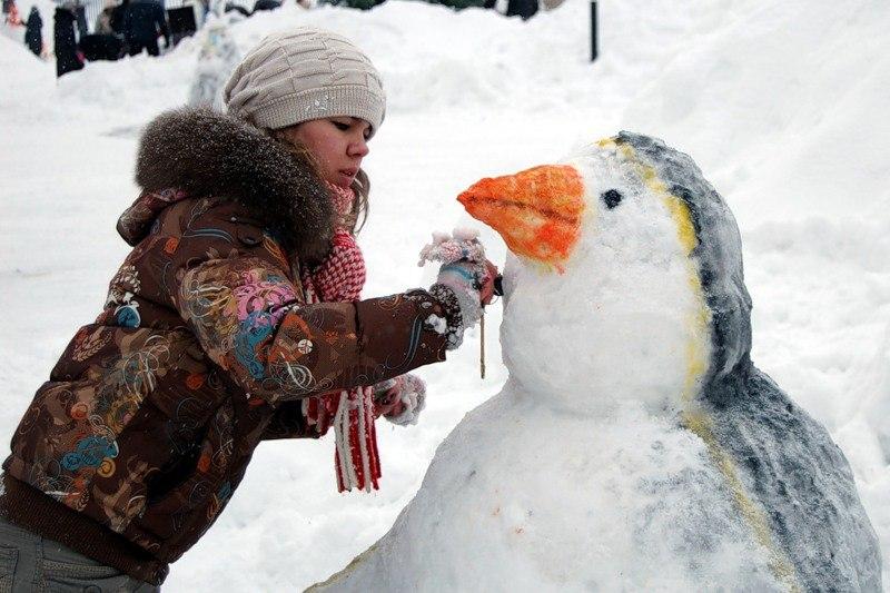 снежные скульпторы
