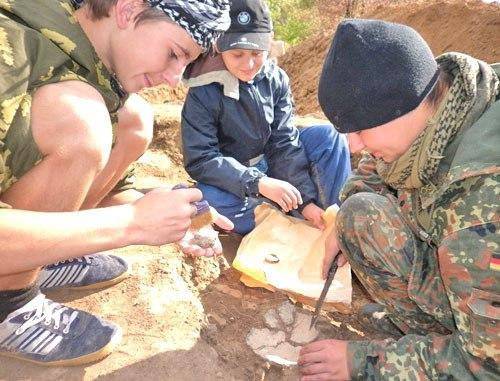 Познавательная игра с сюрпризом «Археологические раскопки»