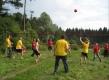 Футбол среди елок и сосен