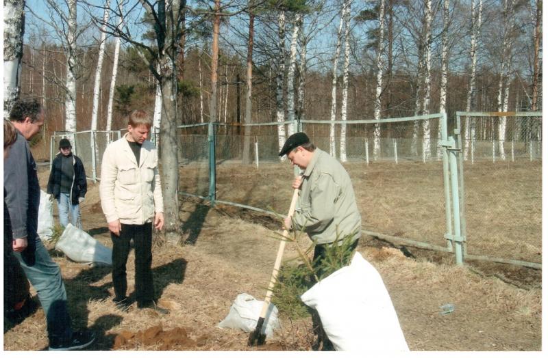 Экологическая деятельность в токсовском лесопарке