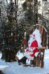 Дед Мороз на Троне встречает Новый Год